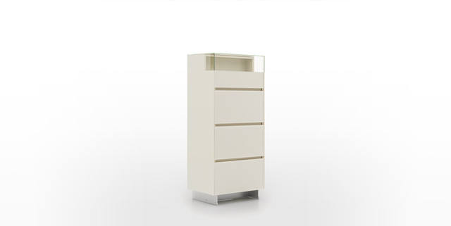 Dickson Furniture - DFJ3029玻璃四桶柜|4-Drawer Chest