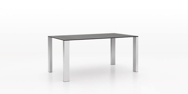 Dickson Furniture - DFT1260/DFT1060玻璃餐台|SATIN GLASS DINING TABLE