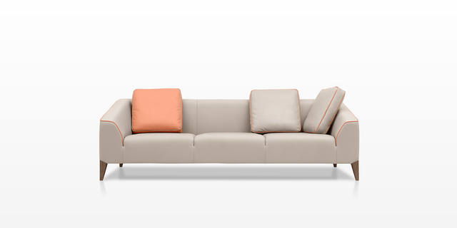 Dickson Furniture - DFS222真皮沙发|Leather Sofa